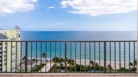 fort lauderdale beach balcony